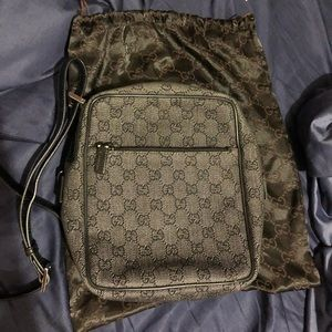 Gucci Crossbody Black Blend Shoulder Bag